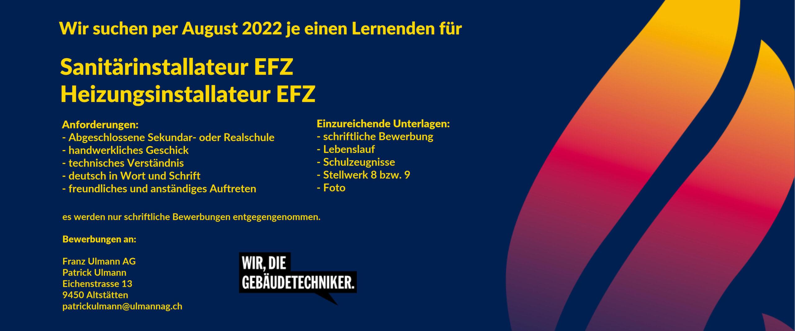 Lehrstellen 2022